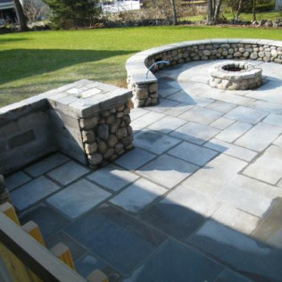 outdoor patio in Greenwich, CT